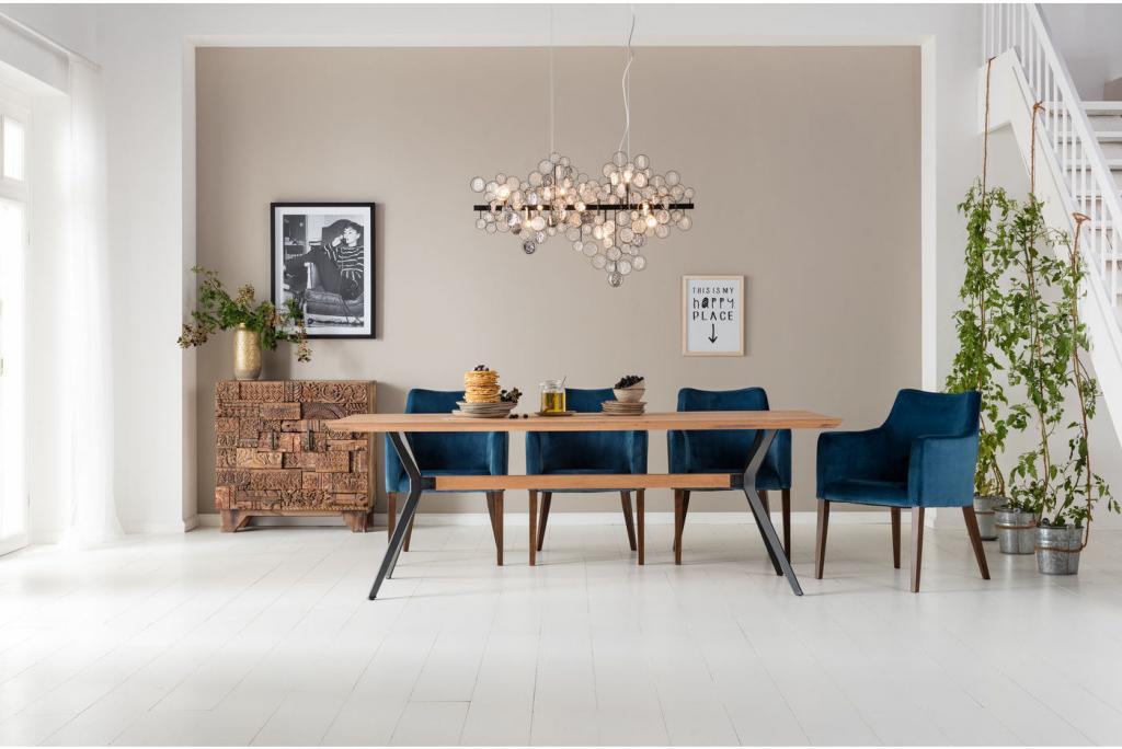 Tisch downtown 220x100cm kare design kaufen for Kare design tisch ibiza
